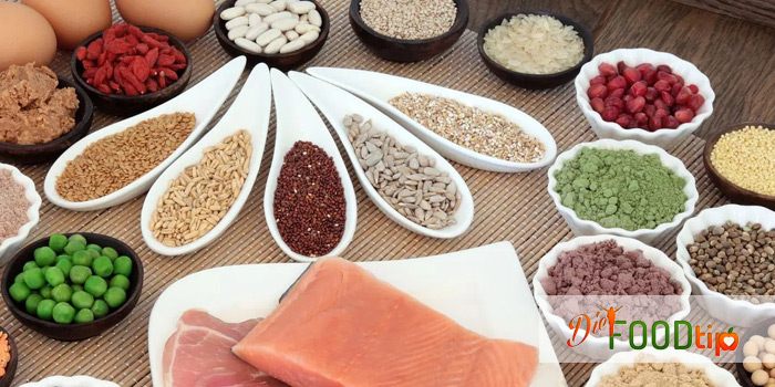 health due to less intake of protein