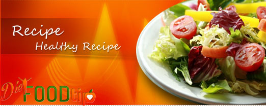 Healthy recipe - diet food tip