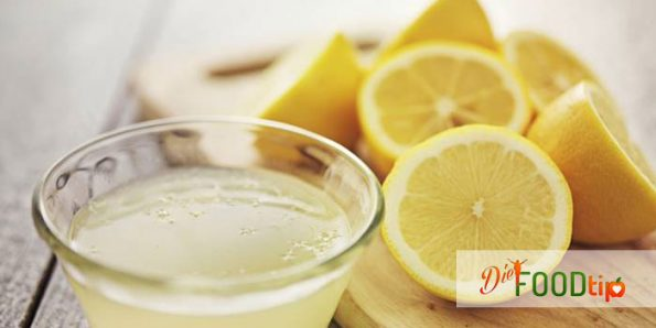 lemon juice belly fat