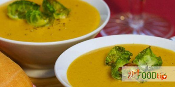 Crispy soup, diet soup