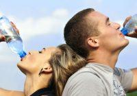 increase in water intake
