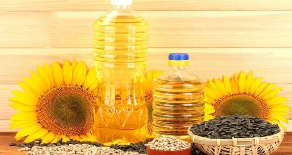 Replace sunflower oil with Olive Oil