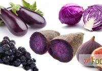 Purple and Blue Vegetables and Fruits
