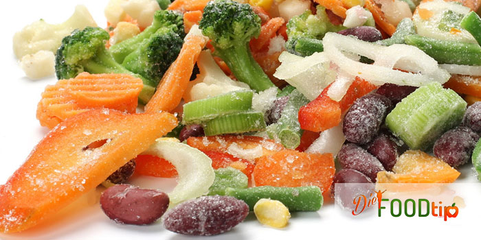 frozen foods diet food tip