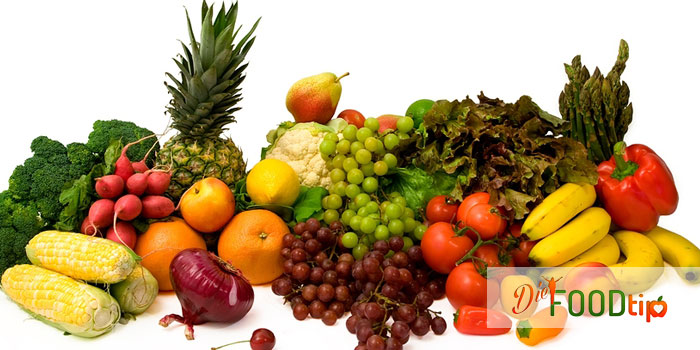 Brown Vegetables and Fruits